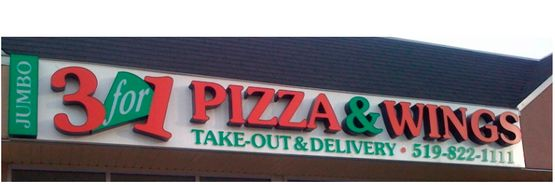 Jumbo 3 for 1 Pizza & Wings | Storefront